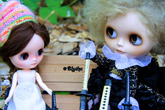 Goldie Continues To Tell The Story of Xemoo and Holly the Time Traveler, one of the Rhubs Knits Girls' friends! -7-