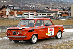 NSU  TT  year 1972 (marvin 345) Tags: auto old italy classic cars car vintage automobile italia rally voiture historic oldtimer oldcar trentino nsu epoca storico vecchia vecchie storiche mezzano nsutt primiero worldcars snowtrophy