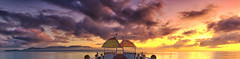The Strand (Tim Poulton) Tags: ocean clouds sunrise pier nikon jetty australia panoramic magneticisland townsville
