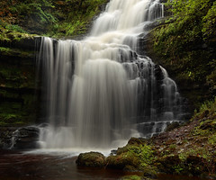 Scaleber Force in Summer (rgarrigus) Tags: summer england green water river landscape waterfall moss stream yorkshire summertime cascade yorkshiredales settle flowingwater greatphotographers scaleberforce garrigus robertgarrigus robertgarrigusphotography