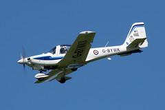 2012-08-20-003FD G-BYWK (BringBackEGDG) Tags: newquay stmawgan grob g115e tutor royalairforce gbywk