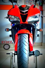 RYDERs! (Hassan Mohiudin) Tags: red bike heavy ryders