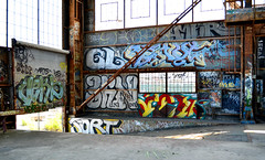verb / gl / renut / ? / scor / sort (thesaltr) Tags: sf sanfrancisco art graffiti bayarea sort dtc gl urbex verb b009 scor renut thesaltr