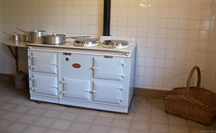 IMG_0034 White Aga Cooker Kitchen Blickling Ha...