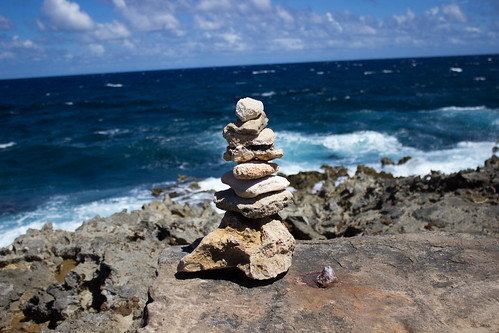 A Stack of Stones in Aruba