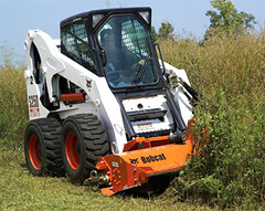 Bobcat Flail Cutter (Bobcat Company) Tags: trees attachments savetime removingbrush flailcutter removingsmalltrees