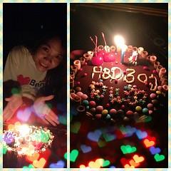 #น้องทำ #เค้กวันเกิด #ย้อนหลัง ให้ #สีน่ารัก #รสชาติดี #30แล้ว #แก่จัง  #ขอบคุณนะ #เค้กทำเอง #อร่อยมาก
