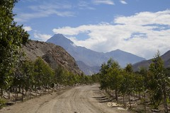Camino en Pacaran - 9358 (Marcos GP) Tags: peru rural landscape camino lima paisaje latina andino senda andean tierra marcosgp