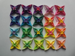 Vandas (Dasssa) Tags: paper square star origami vanda carmen sprung dasssa