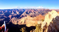 The grandest of canyons (jmacthewanderer) Tags: grandcanyon thatsalongwaydown phonar uploaded:by=flickrmobile colorvibefilter flickriosapp:filter=colorvibe mostcali