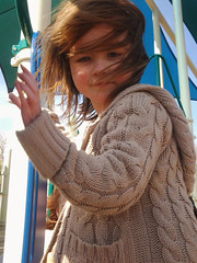 On the Playground (aechott) Tags: park light portrait sun playground outside child wind innocent young energetic