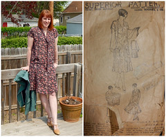 Me-Made-May 2016_8 ({Hillary}) Tags: 1920s pattern superior frock memademay16