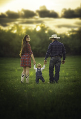 Looking Back (Phillip Haumesser Photography) Tags: family summer baby green love field fun kid spring cowboy child looking sony lookingback familytime sonya7ii