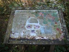 Graffiti (Worthing Wanderer) Tags: november autumn sussex westsussex walk sunny reservoir ardingly pathfinderguides