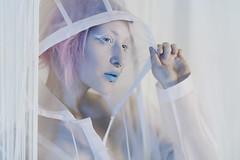 Toshi (Anna Fischer) Tags: portrait color studio raincoat annafischer