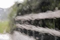 Heavy Rain II (lenanu) Tags: regen rain strmenderregen heavyrain lenanu nikon outdoor drausen tree trees baum bume abstract abstrahiert abstrakt minimal minimalistisch verzerrt blurred distorted verschwommen blurry water wasser glass glas nature natur naturalfilter filter bavaria germany bayern deutschland summerain summer sommer wood holz zaun fence feldweg weg path dirtroad brcke woodenbridge bridge