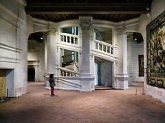 Chambord Castle Staircase (thomas.kopf) Tags: castles chambord der loire schlsser frankreichmai2016