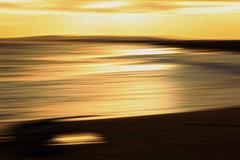 Different-Kind-of-Fine (michaelwr) Tags: light sun motion blur beach goldenlight waterwaves intentionalcameramovement
