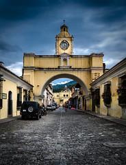 Antigua, Guatemala (ravalli1) Tags: street travel church architecture arch maya guatemala chiesa antigua centralamerica 2014 santacatalina