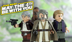 May the Fourth be with you! (LegoMatic9) Tags: star with you may be wars fourth