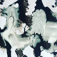 Something is happening  (katarinakadijevic) Tags: trip blackandwhite abstract art wall design acrylic colours expressionism psychedelic spiritual dimension acryl mindblowing psychedelicart
