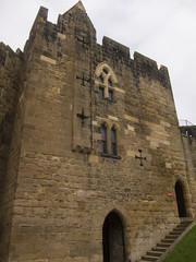 Castle church (quinet) Tags: uk castle alnwick northumberland schloss chteau