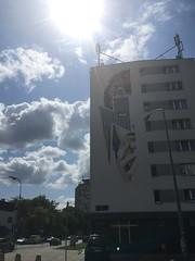 David Bowie Mural (Destructive Compliments) Tags: europe poland polska warsaw warszawa davidbowie ziggystardust