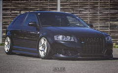 AUDI S3 (JAYJOE.MEDIA) Tags: low static lower audi s3 lowered slammed stance lowlife bagged airride stanced 3sdm