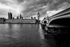 Gray London (Jim Nix / Nomadic Pursuits) Tags: travel sunset england london photography europe housesofparliament bigben bluehour riverthames westminsterbridge lightroom tonality nomadicpursuits macphun jimnix