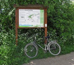 Where 8Fs once would tread (Lost-Albion) Tags: bicycle dunstable dawes sewell