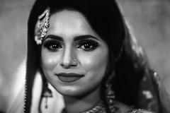FAIZA the BRIDE (N A Y E E M) Tags: faiza bride portrait wedding mohona ballroom hotel radissonblu chittagong bangladesh availablelight indoors