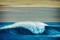 SLOW SHUTTER SWELL (Joel Coleman Photography) Tags: ocean sea storm nature water outdoors coast surf power sydney wave australia surfing swell