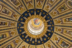 Gloriae Petri (JWY80) Tags: travel italy vatican stpeters rome roma art church nikon catholic cupola dome d750 michelangelo sanpietro stpeter lazio stpetersbasilica cupolone 24120mm latium sixtusv avemariauniversity
