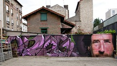 ODEG~ROOBLE/LES FRERES COULURE (Brin d'Amour) Tags: malakoff graffiti exposition 92 lfc brindamour odeg larserve rooble legrand8 lesfrrescoulure