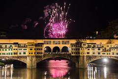 Firenze Giugno 2016 (Pucci Sauro) Tags: firenze toscana pontevecchio fuochidisangiovanni