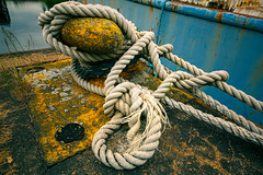 That'll do it! (jorgen.martinsson) Tags: rope knot knots boat harbour dock sigma 1224 mm hamn rep knop knut