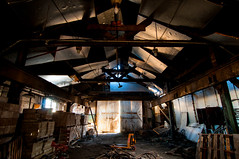 warehouse (Sam Scholes) Tags: old light shadow building abandoned digital dark utah nikon mine industrial decay mining warehouse coal hiawatha d300 kingcoal kingmine usfco unitedstatesfuelcompany