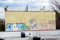 In Brooklyn (LoisInWonderland) Tags: brooklyn graffiti bombs throwups brooklyngraffiti photocreditlennycollado