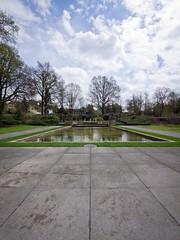 Fountain, Rosengarten, Bern (haslo) Tags: urban nature clouds pen switzerland olympus bern ep3 bernpost