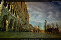 ghosts of san marco (5 Minutes Away) Tags: travel vacation art beautiful fun high amazing interesting san long exposure italia artistic 5 unique quality awesome great away divine explore international exotic stunning marco unusual charming foreign venezia minutes interessant spektakulr ghoste 5minutesaway