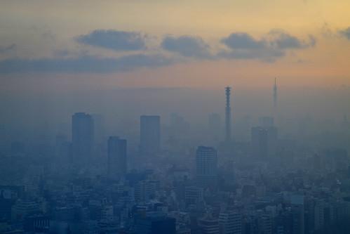 A city stirs.....