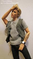 Kristoff ~6 HD 2010 Ken doll (BelladonnaBJD) Tags: doll ken barbie valentine harley kris 12 davidson mattel 2010 kristoff johnnydepppotcpiratesofthecaribbeankendollcollector