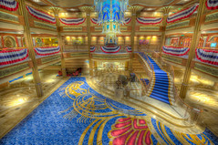 A Night In The Heart Of A Dream (Explored) (Christian Lambert Photography) Tags: cruise night castaway boat duck big nikon ship dream large disney donald line lobby captain atrium cay f4 hdr helm 1635mm photomatix d700 dvcphoto92