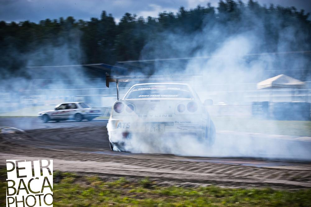 race 03 Sosnová - Jan Baláž/ Nissan Skyline R34