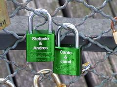 Pont des Arts, Paris (David Lebovitz) Tags: paris france french padlocks pontdesarts lovelocks