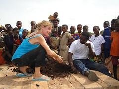 What a long, productive day! (SOIL Haiti) Tags: africa soil benin compost latrine schoolgarden ecosan sashakramer sustainableorganicintegratedlivelihoods