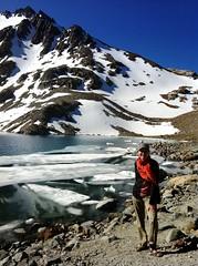 Patagonia - Lago de Los Tres (Svetlana.) Tags: patagonia lake mountains nature argentina landscape andes mountainlake elchalten mtfitzroy cerrofitzroy lagodelostres