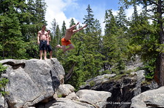 Devil's Punch Bowl (Lewis Cooper Photography) Tags: colorado diving aspen cliffdiving rockys thedevilspunchbowl
