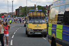 Merseyside Police Mercedes Sprinter Public Order Vehicle PL06 OCH escorting the Olympic Torch (My foto pages) Tags: pov police foxtrot policevehicles mercedessprinter merseysidepolice policemercedes policecarrier publicordervehicle pl06och olympictorchescort
