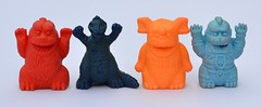 Kaiju pencil topper erasers (LittleWeirdos) Tags: monster japan toy toys eraser godzilla monsters creatures creature kaiju erasers penciltopper japanesemonster keshi rubbermonster rubbermonsters penciltoppers japanesemonsters rubberfigure rubberfigures monsterfigures monsterfigure